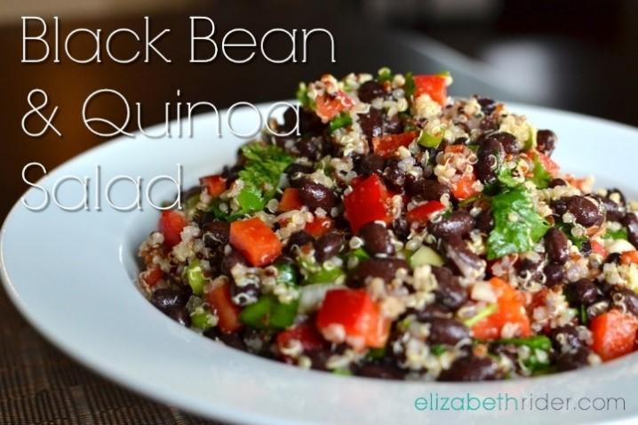Nutrition Connection Healthy Recipes - Quinoa and Black Bean Salad